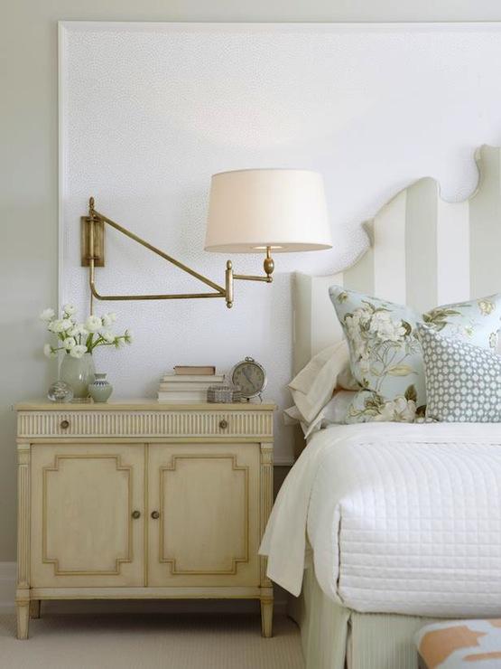 Gray Green Walls Cottage Bedroom Sarah Richardson Design