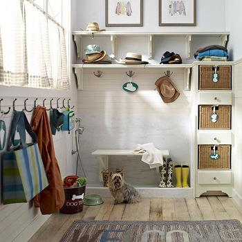 Dog Shower, Cottage, laundry room, BHG