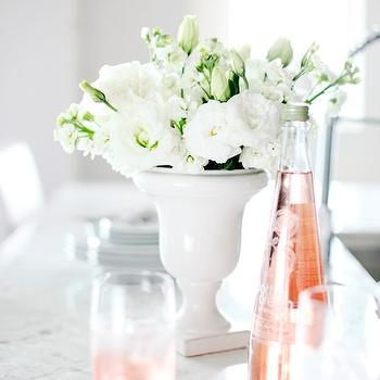 White Urn Vase, Transitional, kitchen, Pure by Ami Mckay