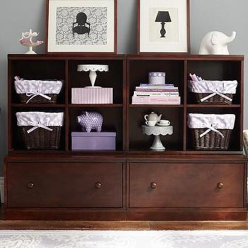 2 Drawer Base & 2 Cubby System, Pottery Barn Kids