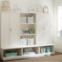 Storage Furniture - Cameron Cabinet Hutch Set | Pottery Barn Kids - customizable kids storage, kids storage, kids room storage, kids cabinet hutchwhite kids room cabinet, white kids room storage system,