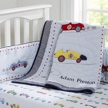 Roadster Nursery Bedding, Pottery Barn Kids