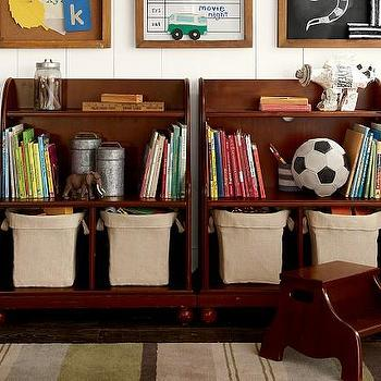 Catalina Console Bookcase, Pottery Barn Kids
