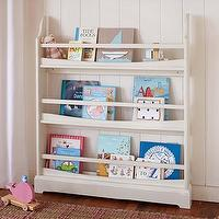 Storage Furniture - Madison 3-Shelf Bookrack | Pottery Barn Kids - bookrack, bookshelf, kids book rack, book rack, book rack storage, kids room book storage, kids book storage,