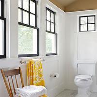 Calcutta Marble Countertops - Transitional - bathroom - Brown Design