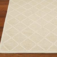Rugs - Lux Trellis Rug | Pottery Barn Kids - trellis rug, oatmeal trellis rug, diamond patterned wool rug,