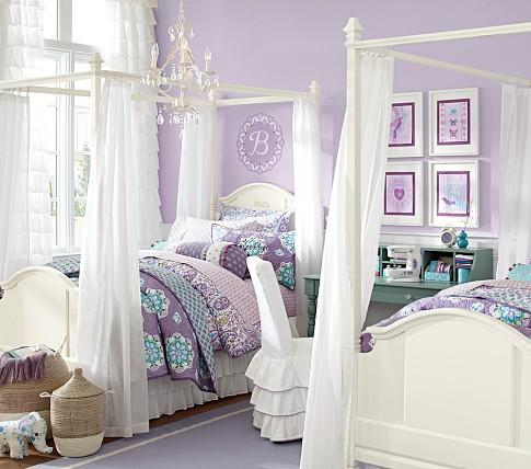 Madeline Bed Amp Canopy Pottery Barn Kids