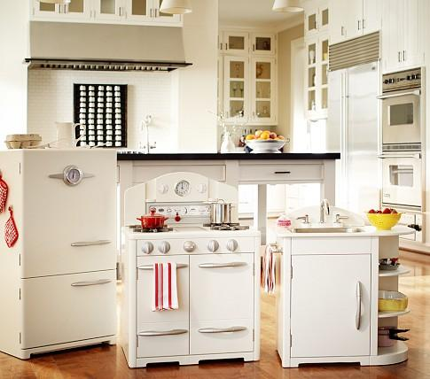 Simply White Retro Kitchen Collection Pottery Barn Kids