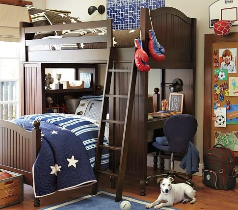 Catalina Bunk System And Twin Bed Set Pottery Barn Kids