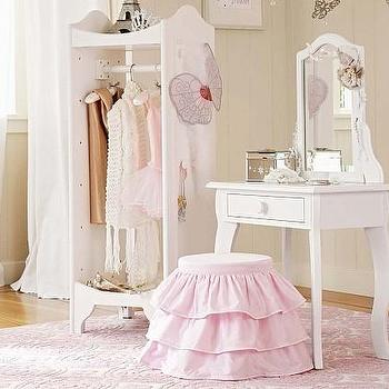Whitney Play Vanity And Dress Up Tower Pottery Barn Kids