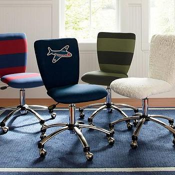 Square Upholstered Task Chair, Pottery Barn Kids