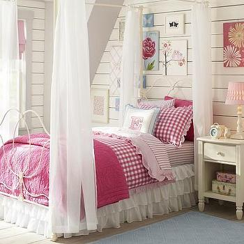Beds/Headboards - Allie Iron Bed & Canopy | Pottery Barn Kids - white iron bed and canopy, white iron bed with canopy, white iron canopy bed,