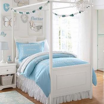 Beds/Headboards - Fillmore Bed & Canopy | Pottery Barn Kids - white canopy bed, canopy bed, white kids canopy bed,