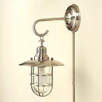 Lighting - Fisherman Sconce | Pottery Barn Kids - fisherman sconce, polished nickel fisherman sconce, nautical sconce,