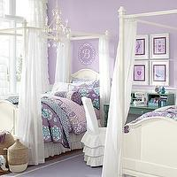 Beds/Headboards - Madeline Bed & Canopy | Pottery Barn Kids - white canopy bed, white kids canopy bed, kids canopy bed,