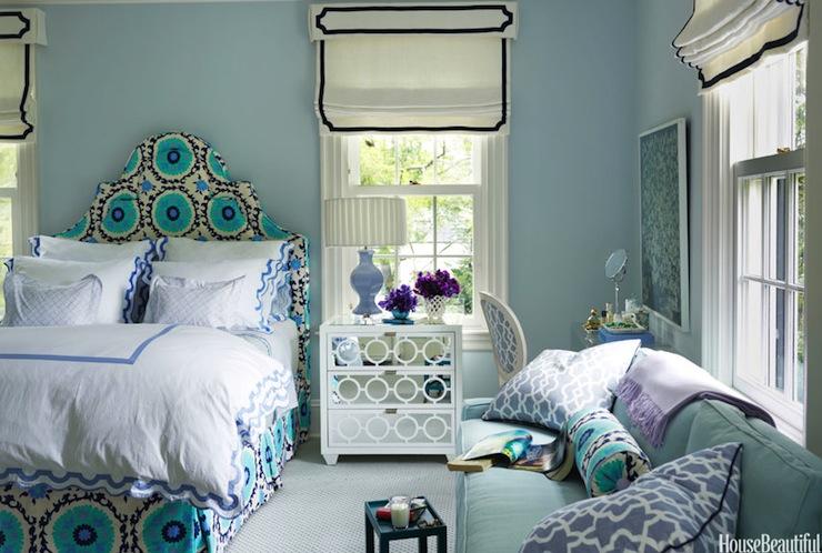 Turquoise teen girl s room contemporary girl s room benjamin moore