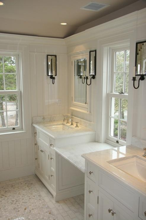 Carrara Marble Traditional Bathroom Toby Leary Fine