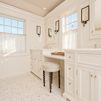 Drop Down Vanity = Transitional, bathroom, Toby Leary Fine Woodworking