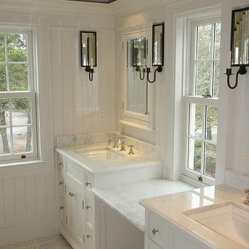 Carrara Marble, Traditional, bathroom, Toby Leary Fine Woodworking