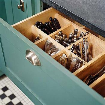 Built In Cutlery Drawer, Vintage, kitchen, BHG