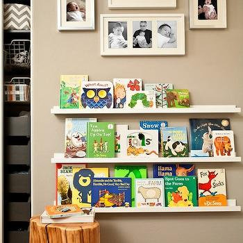 Ikea Ribba Picture Ledge, Transitional, nursery, J and J Design Group