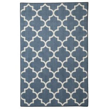 Rugs - Maples Fretwork Rug Collection I Target - fretwork rug, blue and white fretwork rug, blue and white lattice rug,