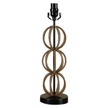Lighting - Threshold Table Lamp Rope Sphere Stack I Target - rope wrapped lamp, stacked sphere lamp, stacked sphere rope wrapped lamp,