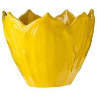 Decor/Accessories - Three Hands Yellow Ceramic Leaf Bowl I Target - yellow leaf bowl, yellow ceramic leaf bowl, yellow bowl,