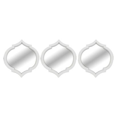 Threshold Moroccan Mirror 3 Pack White I Target