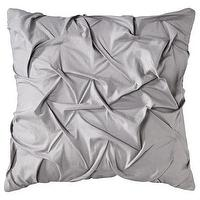 Pillows - Threshold Texture Decorative Pillow - Gray I Target - gray pillow, gray ruffled pillow, gray pleated pillow,