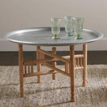 Portable Moroccan Tea Table I Vivaterra