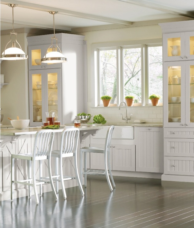 Martha stewart kitchen cabinets transitional kitchen martha stewart gull martha stewart - Martha stewart kitchen design ...