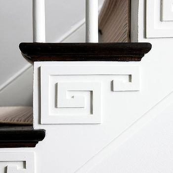 Greek Key Trim, Contemporary, entrance/foyer, BHG