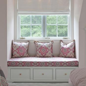 Pink and Gray Girls Room, Transitional, girl's room, Nightingale Design