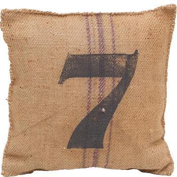 Vintage Sack Pillow #7 I High Fashion Home