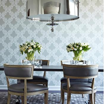 Gray Dining Chairs, Contemporary, dining room, Chango & Co.