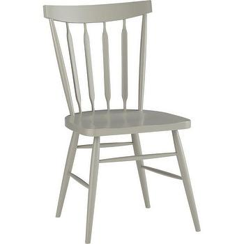 Riviera White Low Windsor Side Chair Paola Navone