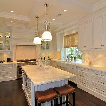 Coffered Ceiling Kitchen, Traditional, kitchen, Prestige Mouldings & Construction