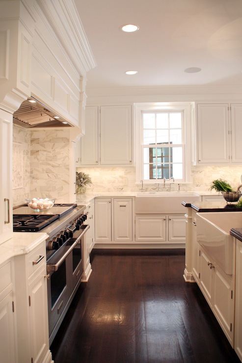 Off white cabinets traditional kitchen farrow ball - Pictures of white kitchens ...