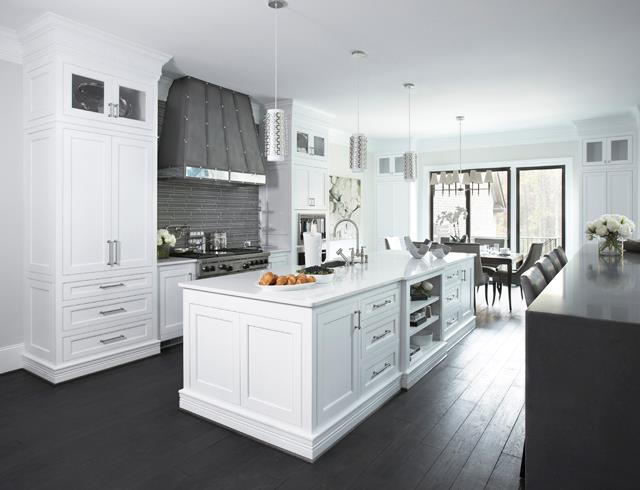 White And Grey Kitchen Contemporary Sherwin