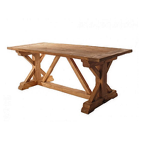 Tables - Hudson Yard West End Solid Elm Table - Table, barn borads hudson ny, hamptons, nyny,