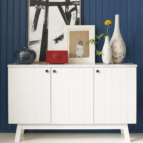 Mix match cabinet white lacquer west elm - West elm bathroom storage ...
