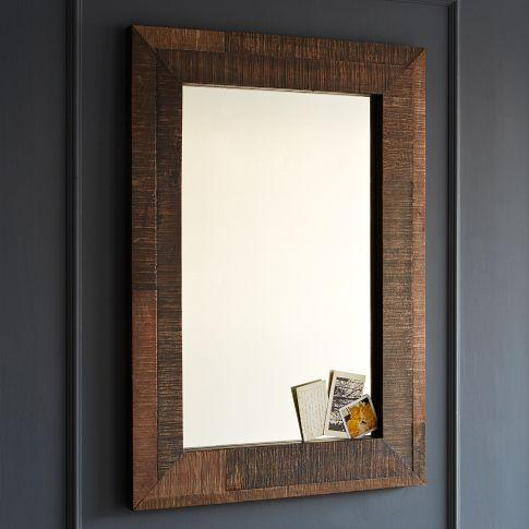 Popular Reclaimed Wood Mirror  20x24 Vanity Mirror  Bathroom Mirror