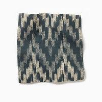 Fabrics - Fabric by the Yard - Ikat Chevron | west elm - ikat chevron fabric, ikat fabric, blue ikat fabric, blue chevron fabric,