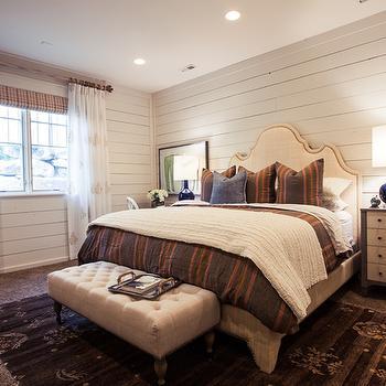 Raffia Headboard, Cottage, bedroom, Alice Lane Home