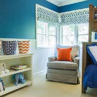 blue-and-orange-boys-bedroom - Design, decor, photos, pictures ...