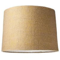 Lighting - Nate Berkus for Target Burlap Lampshade - Target - burlap lampshade, burlap lamp shade, burlap wrapped lampshade,