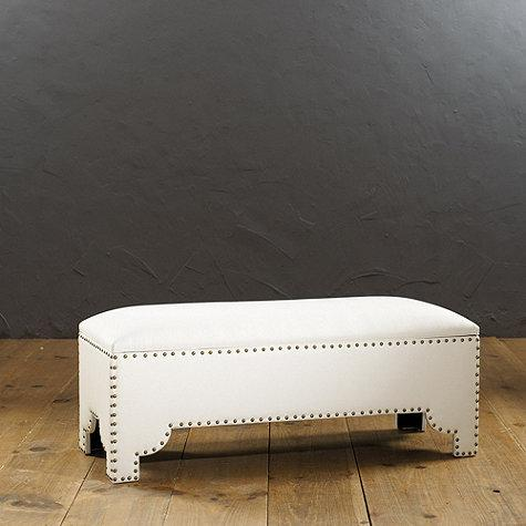 Jasmine storage bench ballard designs for Ballard designs bench seating