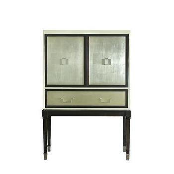 Storage Furniture - Belle Meade Signature Bijou Bar Table | Wayfair - mid century style bar, metallic bar, mid-century modern style bar, bar furniture,