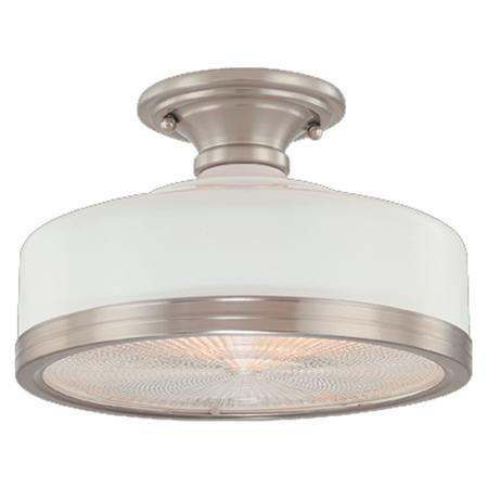 Industrial Retro Semi Flush Ceiling Light Shades Of Light